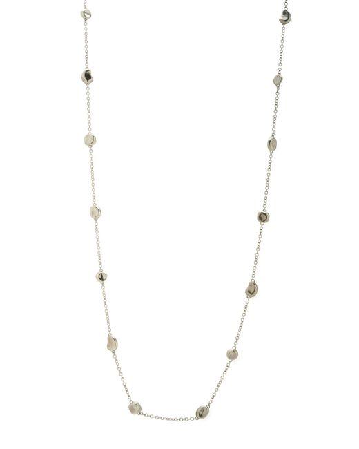 Ippolita   Metallic Silver Station Necklace   Lyst