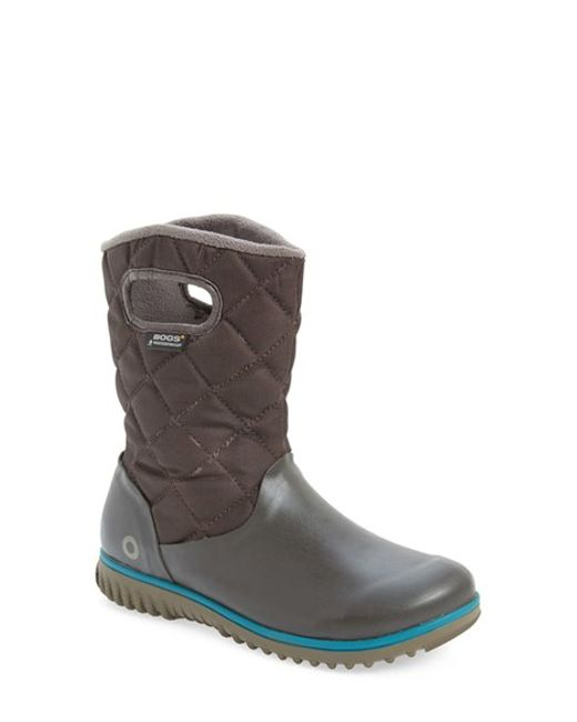 Bogs | Brown Waterproof Quilted Snow Boot | Lyst