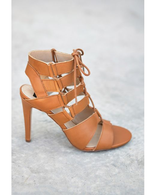 Forever 21 | Brown Dolce Vita Cutout Gladiator Sandals | Lyst
