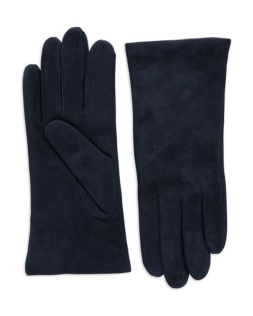 Lord & Taylor | Blue Suede Gloves | Lyst