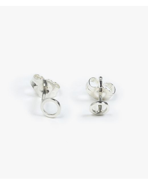 Still House | Metallic Rala Circle Earrings | Lyst
