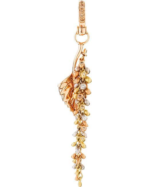 Annoushka | Metallic Mythology 18ct Rose Gold And Diamond Catkin Charm | Lyst
