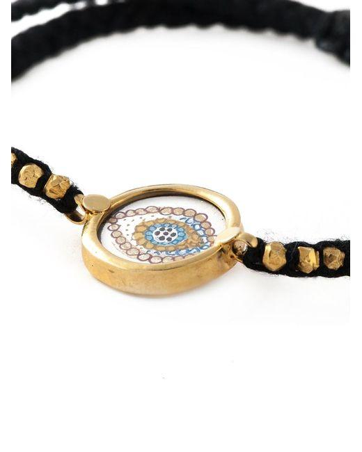 Ileana Makri | Black 'happy Eye' Bracelet | Lyst