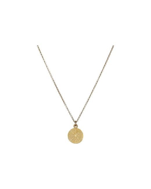 Dogeared | Metallic Life's A Maze Reminder Necklace | Lyst