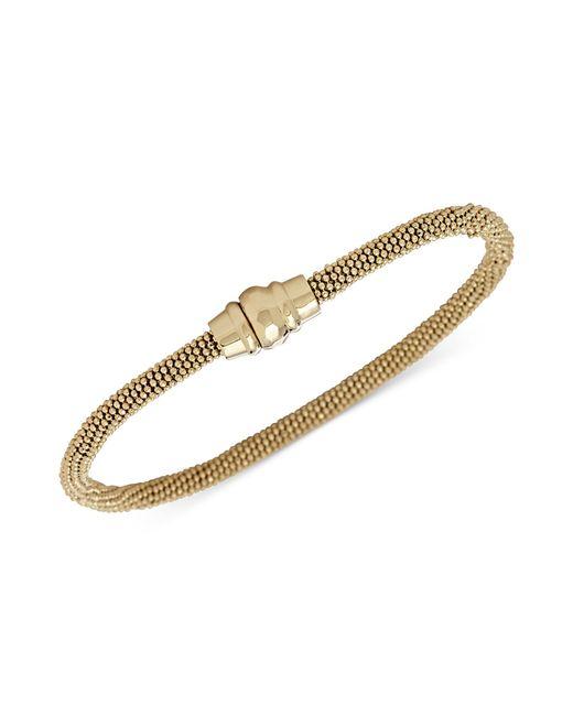 Fossil | Metallic Goldtone Magnetic Clasp Bracelet | Lyst