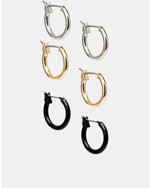 ASOS | Multicolor Hoop Earring Pack | Lyst