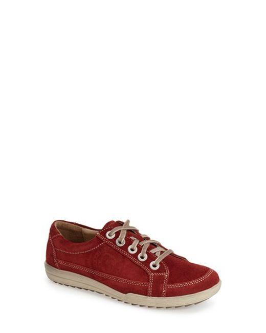 Josef Seibel | Red 'dany 01' Low-cut Sneaker | Lyst