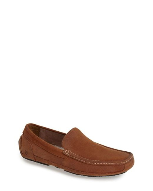 Andrew Marc | Brown 'empire' Suede Driving Shoe for Men | Lyst