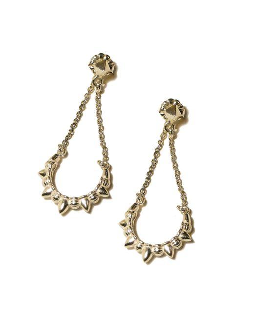 Pamela Love | Yellow Chain Earrings | Lyst
