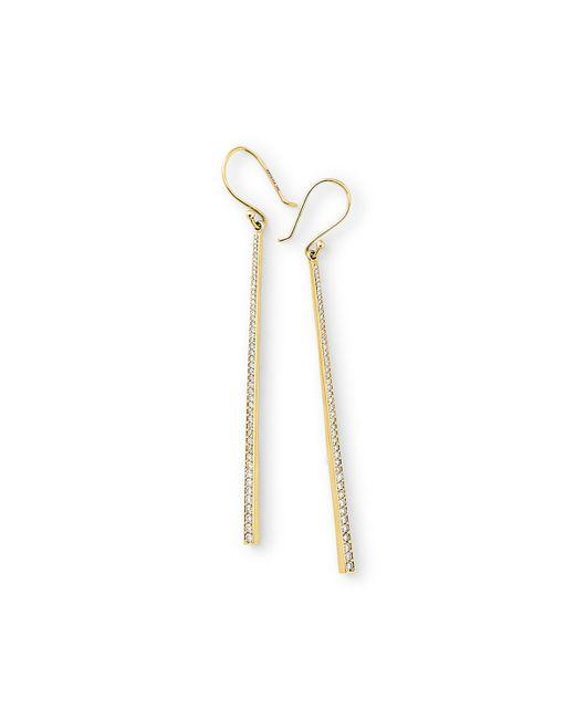 Ippolita | Metallic 18k Glamazon Stardust Long Earrings With Diamonds | Lyst