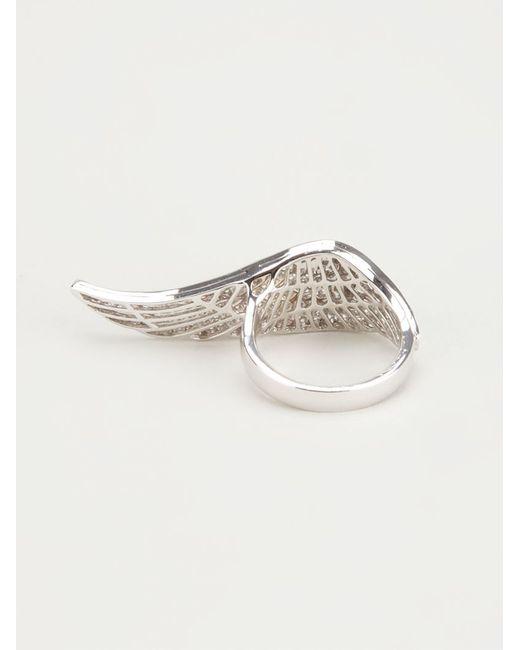 Garrard   Metallic Wing Ring   Lyst