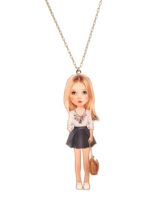 N2 | Metallic Necklace / Longcollar | Lyst