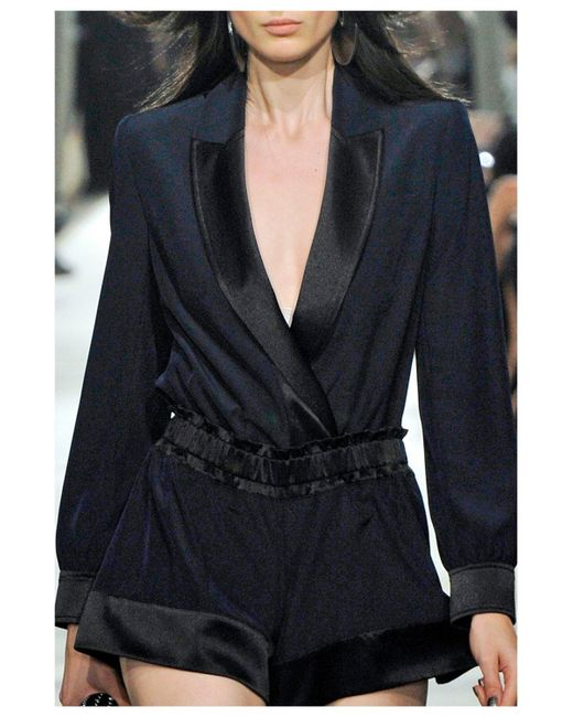 Alexis Mabille | Blue Smoking Jacket | Lyst