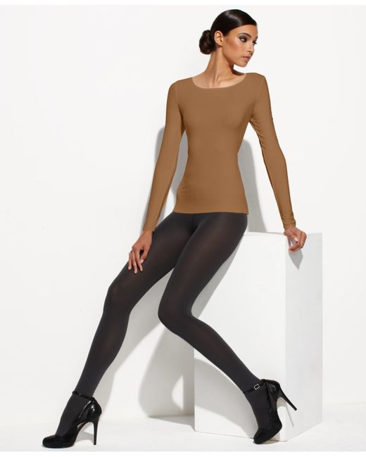 Wolford | Natural Pure Pullover | Lyst