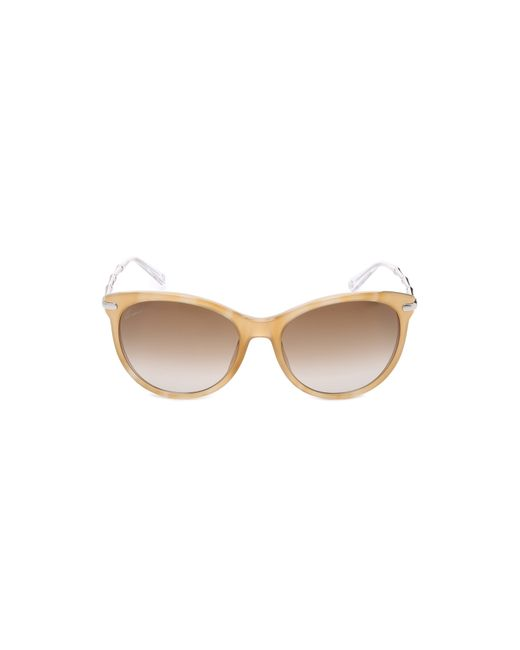 Gucci | Natural Bamboo Temple Sunglasses | Lyst