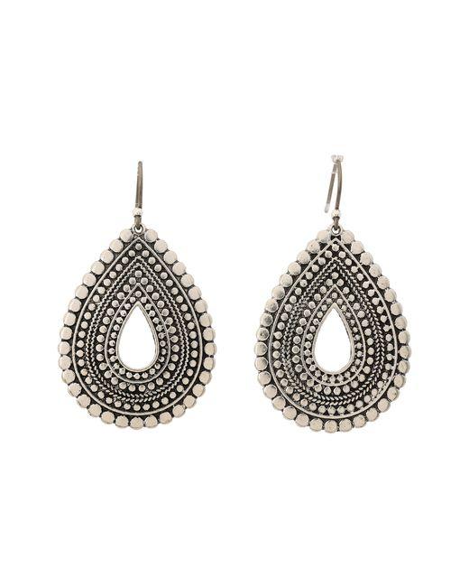 Lucky Brand | Metallic Blue Moon Tear Drop Earrings | Lyst