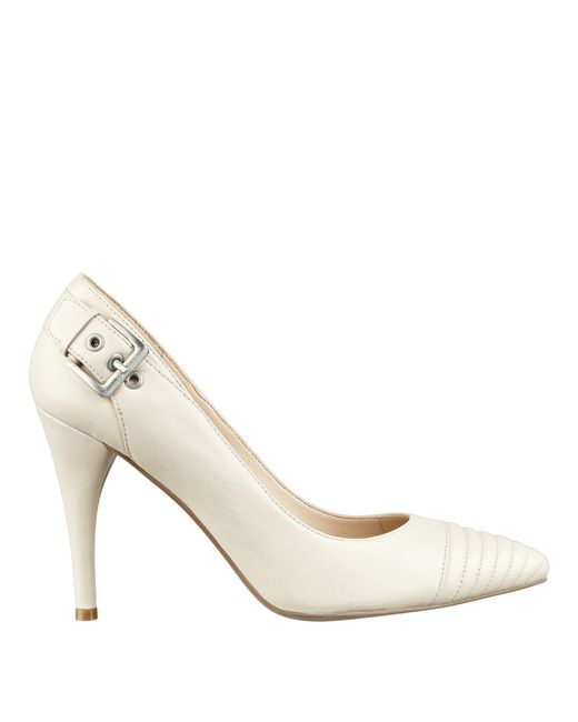 Nine West | White Firedup Pointy Toe Pumps | Lyst