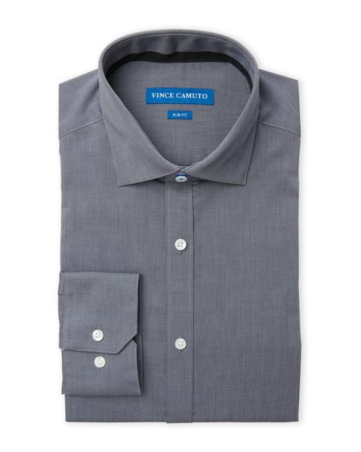 Vince Camuto   Gray Slim Fit Dress Shirt for Men   Lyst