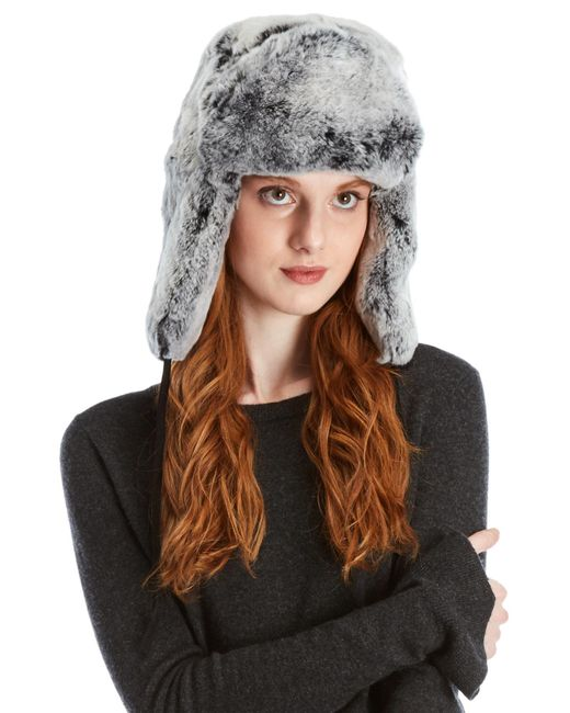 Surell - Brown Real Fur Trapper Hat - Lyst