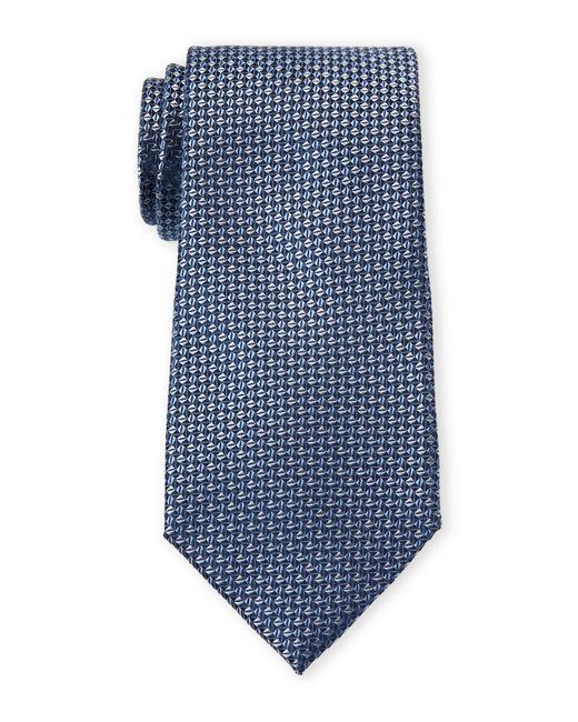 4fc39262fac1 MICHAEL Michael Kors Indigo Modern Natte Tie in Blue for Men - Lyst