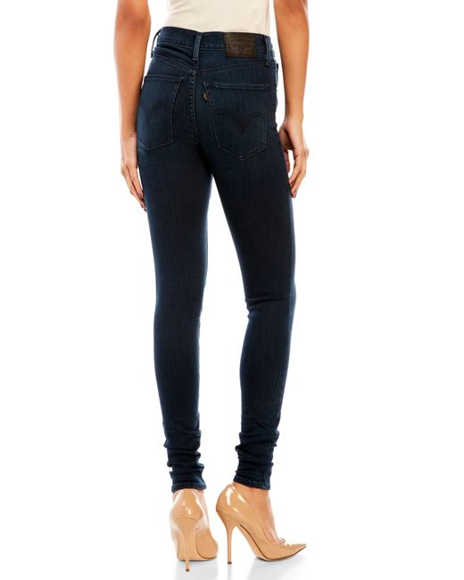 Levi's Mile High Super Skinny Jeans in Blue (Day Dreaming ...