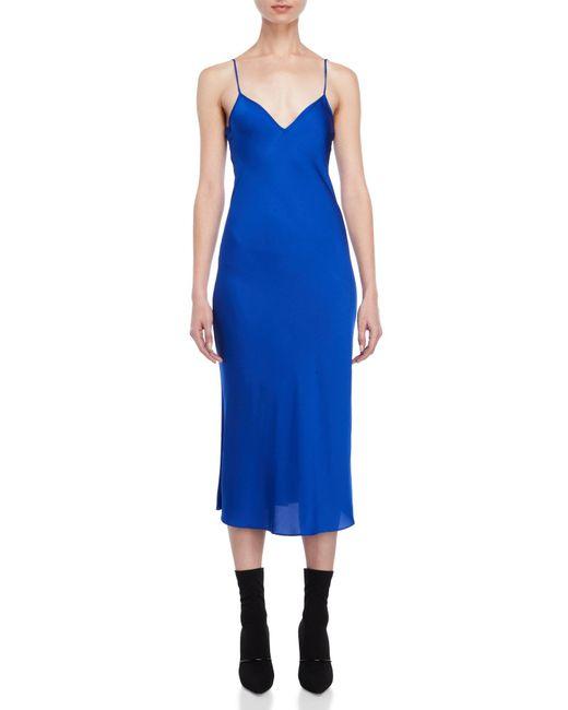 Ellery - Blue Cobalt Vast Slip Dress - Lyst