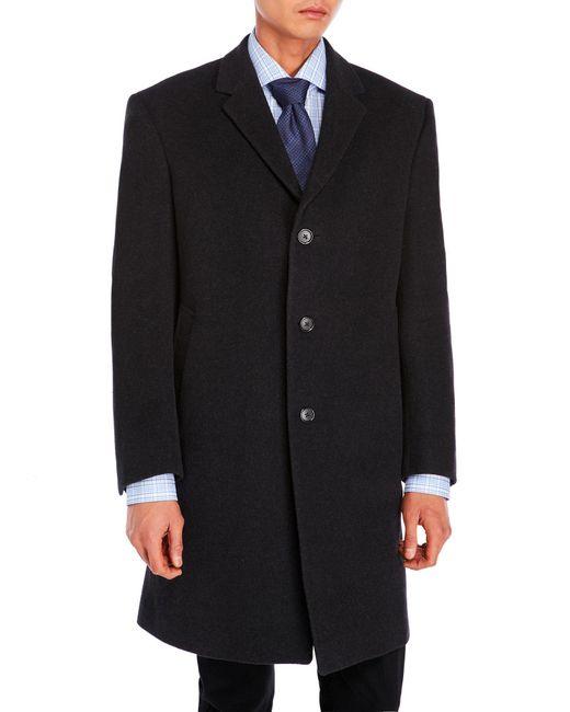 Tommy Hilfiger - Gray Charcoal Barnes Coat for Men - Lyst