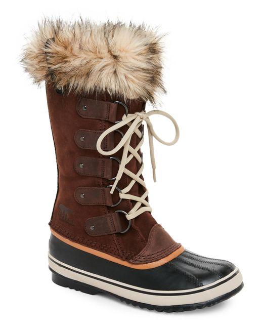 Sorel | Brown ® Women ́s Winter Fancy Lace Ii Waterproof Boots | Lyst