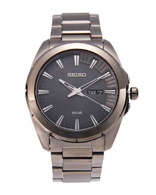 Seiko | Gray Sne419 Grey Watch for Men | Lyst
