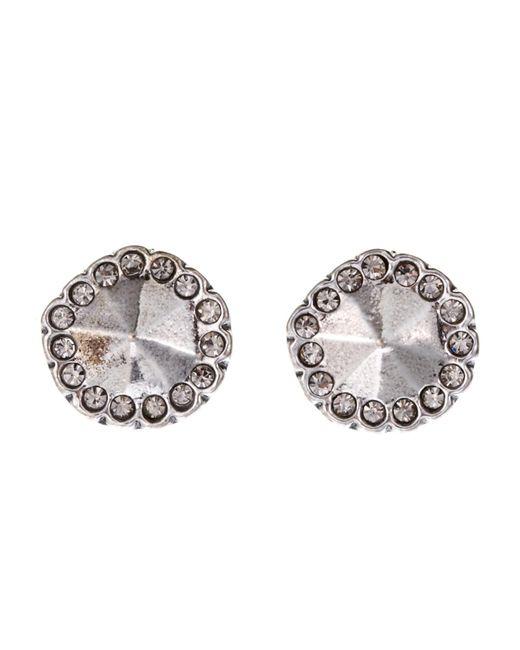 House of Harlow 1960 | Metallic Silver-Tone Stud Earrings | Lyst