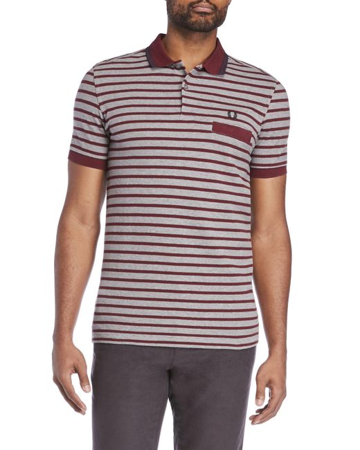 Fred Perry   Multicolor Classic Stripe Pique Shirt for Men   Lyst
