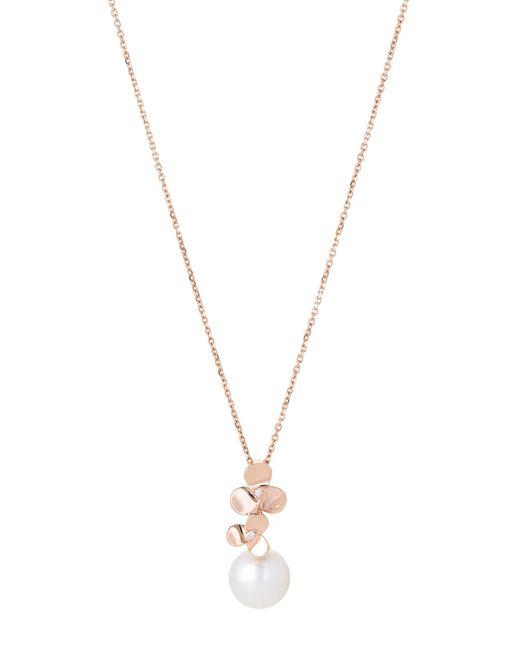 Tara Pearls - Multicolor 14k Rose Gold Akoya Cultured Pearl Pendant Necklace - Lyst
