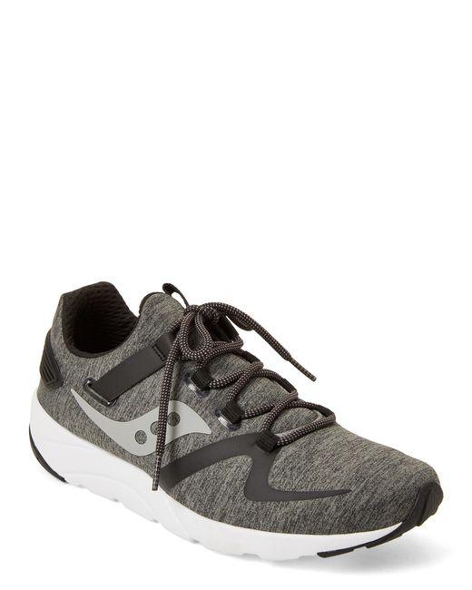 Saucony - Gray Grey & Black Grid 9000 Running Sneakers for Men - Lyst