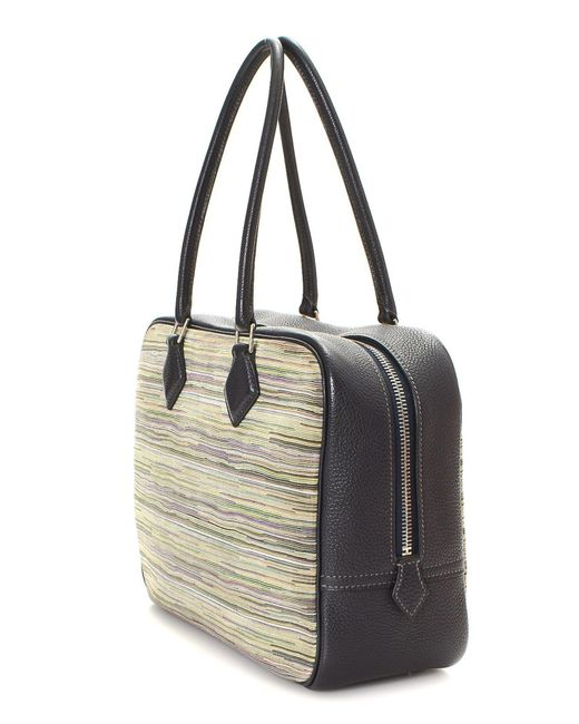 d5086c9a112b ... new zealand hermès multicolor sac a main plume 28 handbag vintage lyst  a9694 f6cde