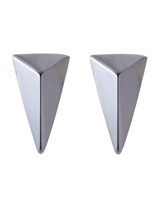 Alexis Bittar | Multicolor Ruthenium Pyramid Earrings | Lyst