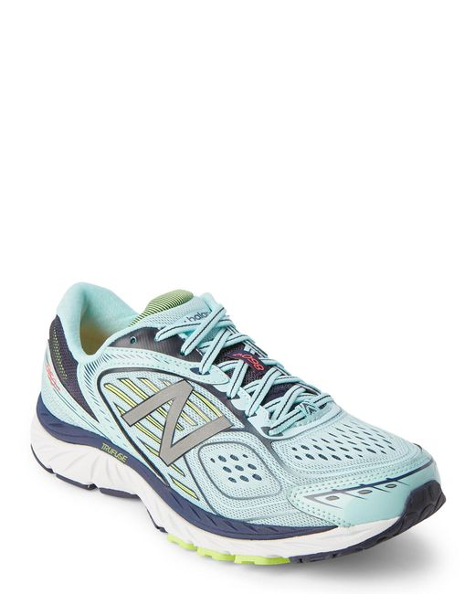 New Balance - Blue Mist & Navy 860 V7 Running Sneakers for Men - Lyst