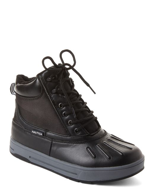 Nautica Black New Bedford Duck Boots for men