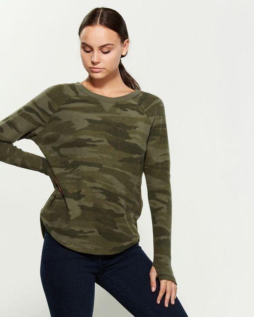 Sweet Romeo Green Yummy Long Sleeve Sweater