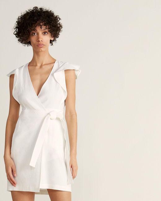 A.L.C. Multicolor Sidelle Wrap Dress