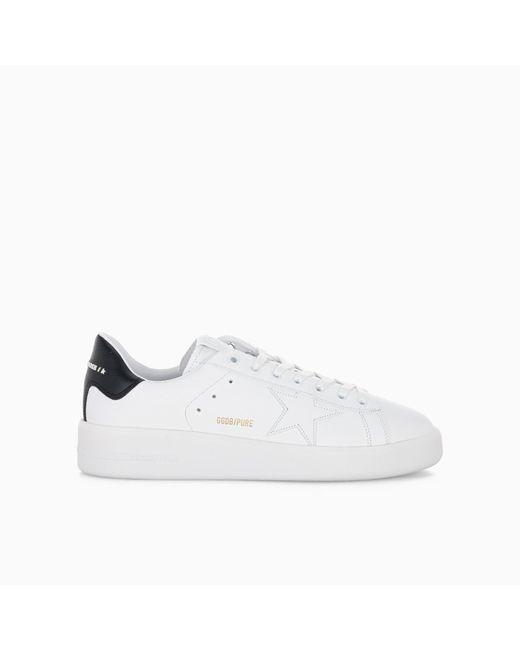 Golden Goose Deluxe Brand White Purestar Low-top Sneakers for men