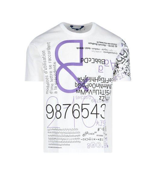 Junya Watanabe Multicolor Graphic Print T-shirt for men
