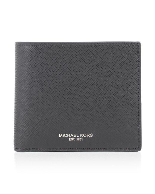 Michael Kors - Black Billfold Wallet for Men - Lyst