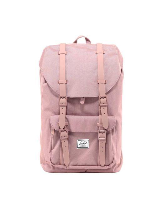 Herschel Supply Co. Pink Little America Backpack for men