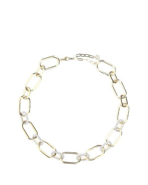 Swarovski Metallic Time Necklace Necklace