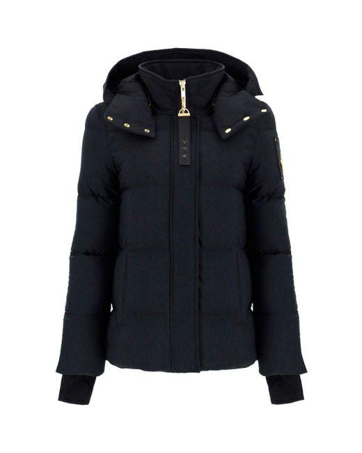 Moose Knuckles Black Nechako Padded Jacket
