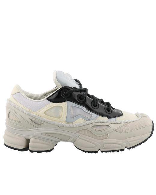 Adidas By Raf Simons - White Ozweego Iii Sneakers - Lyst