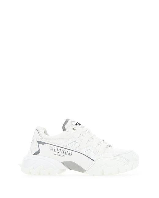 Valentino Garavani Logo Sneakers White