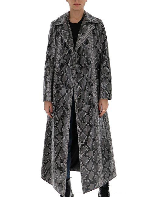 Stand Studio Multicolor Sasha Long-line Coat