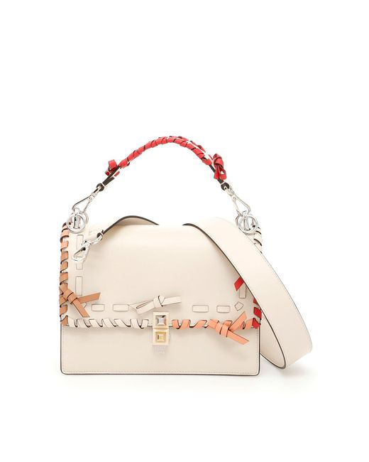 Fendi - Pink Kan I Shoulder Bag - Lyst
