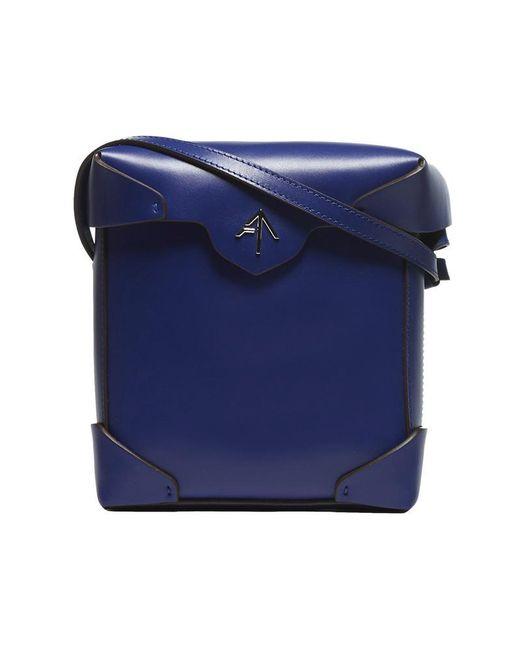 MANU Atelier Blue Mini Pristine Bag
